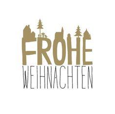 Servietten WInterzeit von Räder Design - Frohe Weihnachten - www.