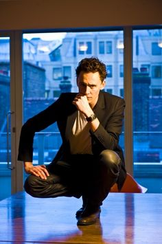 Where are you, even, Tom? Do you just crouch in random buildings waiting to ambush fangirls with sexiness?