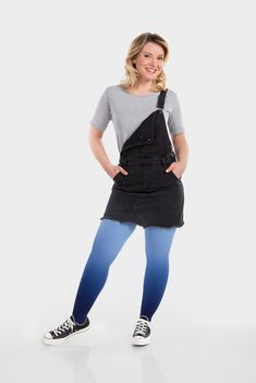 Juzo Expert Kompressionsstrümpfe in Dip Dye Färbung Blaubeere Tights Outfit, Dip Dye, Overall Shorts, Dips, Overalls, Pants, Outfits, Collection, Style