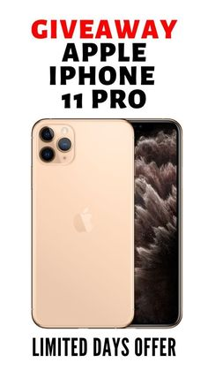 Want an iPhone 11 Pro for free? Here is your chance to win a beautiful brand new iPhone 11 Pro for your life! Don't miss the chance! Iphone Pro, New Iphone, Apple Iphone, Iphone Case, Iphone Online, Latest Iphone, Iphone Mobile, Free Iphone Giveaway, Get Free Iphone