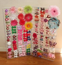 craft show ideas | The Start of my craft show inventory - Hip Girl Boutique Free Hair Bow ...