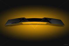 2014-2016 C7 Stingray Extreme Rear Spoiler Black Gelcoat