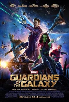 Guardians of the Galaxy (2014) 121 min - Action | Adventure | Sci-Fi - 1 August 2014 (USA)