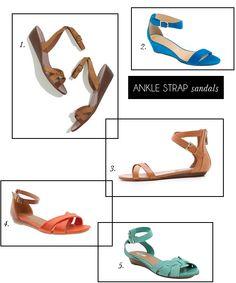 ankle strap sandals for spring