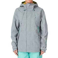 O'Neill Pw Rainbow Snow Jacket - Siberian Grey   Free UK Delivery £180