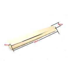 3.2 inch (8 cm ) straight Purse edging Wallet frame wallet edging Metal Edging strip Light Gold #Affiliate