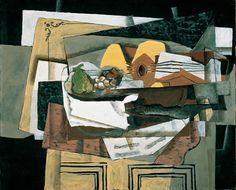 Georges Braque   Die Anrichte - The Sideboard   1920, © Albertina, Wien