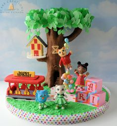 Daniel Tiger & Friends - Cake by Cake Creations by ME - Mayra Estrada