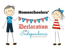 This week in the United States of America, we celebrated Independence Day. The holiday is an important one to us, as we reflect and remember the cost of our society and culture. As I reflected on that, I realized that the homeschooling community, as a subculture, has also declared independence, albeit without official document. …