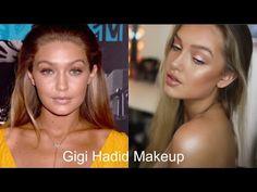 Gigi Hadid Makeup Tutorial - YouTube