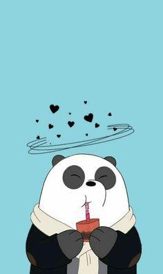 I love a pandas 😍😍😍 on We Heart It Panda Wallpaper Iphone, Cute Panda Wallpaper, Bear Wallpaper, Cute Disney Wallpaper, Kawaii Wallpaper, Cute Wallpaper Backgrounds, Tumblr Wallpaper, Trendy Wallpaper, Animal Wallpaper