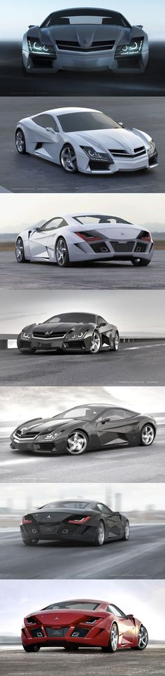 Mercedes #supercar #concept