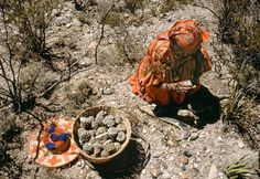 Huicholes - an indigenous north mexican community