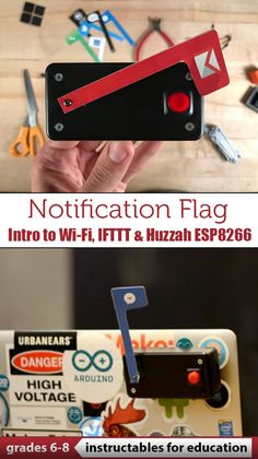 An Internet of Things (IoT) device to notify or remind me of these important things! #IFTTT #HuzzahESP8266 #education