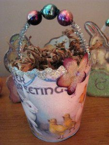 Peat Pot Container - Easter