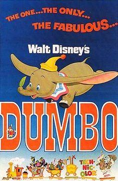Pititeddy: Afiche de la película Dumbo.