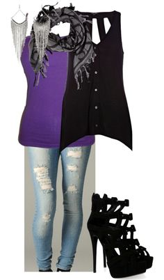 """""""Untitled #175"""" by jennifer-suttles ❤ liked on Polyvore"""