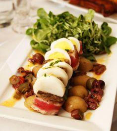 Potato/egg dish at La Boum at L'Enfant Café & Bar on Bitches Who Brunch {www.BitchesWhoBrunch.com}