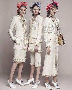 #Chanel Métiers d'Art 2017 #ParisCosmopolite #Lookbook  #Model : #NatalieWestling #Ratner & #Faretta  By #KarlLagerfeld  #PreFall #Photographer  #Collection #Magazine  #Fashion #Designer #InstaFashion #Photoshoot #Zackylicious #AbbyZacky @voguerunway