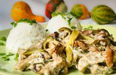 Vega stroganoff | Kertkonyha - Vegetáriánus receptek képekkel