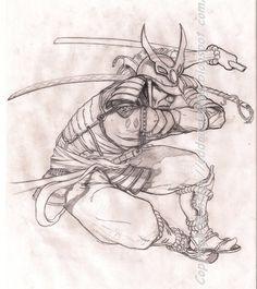 tattoo drawings | Tattoo Design,Samurai by ~Oddnamae on deviantART