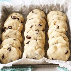 These Condensed Milk Chocolate Chip Cookies taste like a shortbread cookie crossed with a chocolate chip cookie. This recipe is a great way to use up leftover sweetened condensed milk. Condensed Milk Cookies, Sweet Condensed Milk, Condensed Milk Recipes, Milk Chocolate Chip Cookies, Chocolate Chips, Chocolate Desserts, Cookie Recipes, Dessert Recipes, Baking Recipes