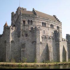 Gent Belgium, Gravensteen, castle. #belgium #gent