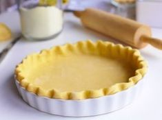 This is the one pie crust recipe you absolutely need! This Easy Vodka Pie Crust is so easy to work with and bakes up flakey. Lard Pie Crust, Vodka Pie Crust, Food Processor Pie Crust, Food Processor Recipes, Just Desserts, Delicious Desserts, Sweet Recipes, Real Food Recipes, Jewish Recipes