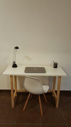Escrirorio / Melaminico + Pino Clear / TRIO Diseño en Madera / #tríodiseño #escritorio #diseño #amedida #melaminico #hechoenuruguay