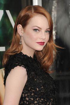 Make-up & coiffure : le parcours sans faute d'Emma Stone   Glamour