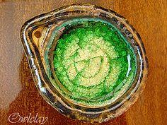 Инкрустация керамики стеклом | Ярмарка Мастеров - ручная работа, handmade