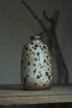 yoko komae's clay work. white breath  via The Gifts Of Life