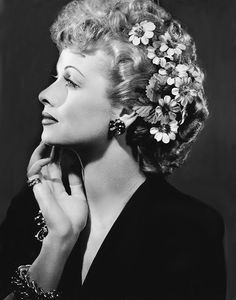 Lucille Ball -  comedienne, model, film and television actress and studio executive