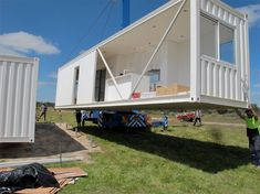 dropping in - Shipping Container Homes, Modular Homes