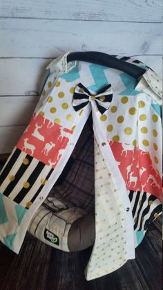 Carseat Canopy Coral Deer Arrow Gold Strip by fashionfairytales Baby Canopy, Baby Bedding, Little Stitch, Baby Necessities, Everything Baby, Baby Fever, Future Baby, Baby Items, Baby Car Seats