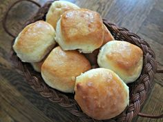 Fluffy, Buttery, Rolls (Texas Roadhouse Copy Cat) & Cinnamon Honey Butter...Oh yeah, must try these!