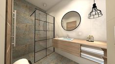 Aparici Carpet vestige, Azario Nevesta, New Modus Black Beautiful Bathrooms, Double Vanity, Carpet, Tile Ideas, Mirror, Interior, Furniture, Design, Home Decor