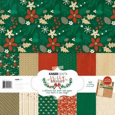 Kaisercraft+-+Holly+Bright+Collection+-+Christmas+-+12+x+12+Paper+Pack+at+Scrapbook.com