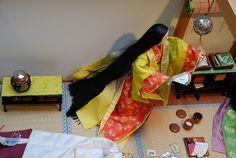 Japanese Beauty, Japanese Style, Asian Beauty, Heian Era, Heian Period, Japanese Aesthetic, Japanese Paper, Washi, Paper Dolls
