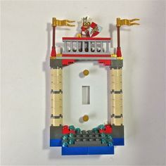 The King LEGO® Light Switchplate by BrickShtick for $36.00