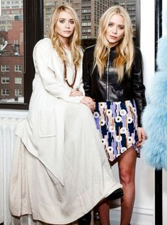 Ashley and Mary-Kate Olsen........