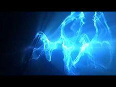 free vj's loop (Audio Reaction blue)