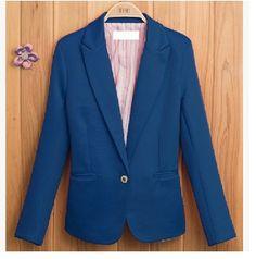 2016 Sale 5 colour Blaser Blazer Women Jaqueta Feminina Autumn Casual Blazer Jacket Women Slim Wave V Neck Feminino Coat Suit♦️ SMS - F A S H I O N 💢👉🏿 http://www.sms.hr/products/2016-sale-5-colour-blaser-blazer-women-jaqueta-feminina-autumn-casual-blazer-jacket-women-slim-wave-v-neck-feminino-coat-suit/ US $13.16