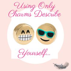 Online Facebook charm game for Origami Owl Facebook jewelry bar.