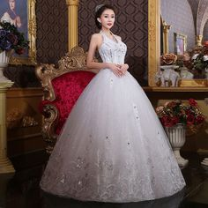 2014 new autumn and winter bride wedding dress yarn Qi Halter Slim was thin Korean simple fashion custom