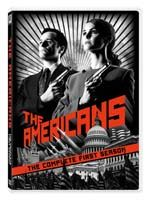 DVD -- Television. The Americans, season 1. Starring Keri Russel and Matthew Rhys.