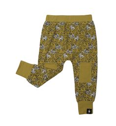 Teen Girl Outfits, Outfits For Teens, Cute Outfits, Baby Pants, Kids Pants, Tiger Print, Skinny Fit, Mustard, Harem Pants