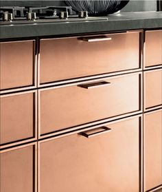 32 best Copper Kitchen Cabinets images on Pinterest | Copper kitchen ...