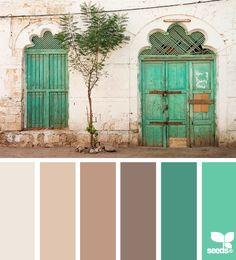 Design Seeds. Possible colour scheme.