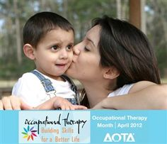 Autism + Occupational Therapy = Participating in your community and living a meaningful life. #OTMonth